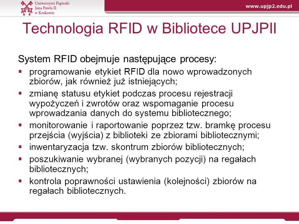 Technologia RFID w Bibliotece UPJPII