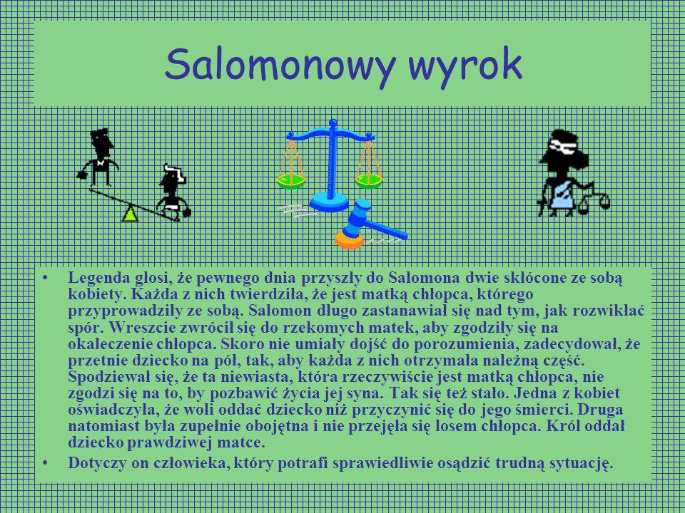 Salomonowy wyrok