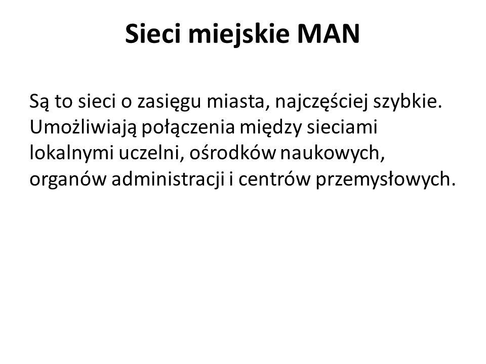 Sieci miejskie MAN