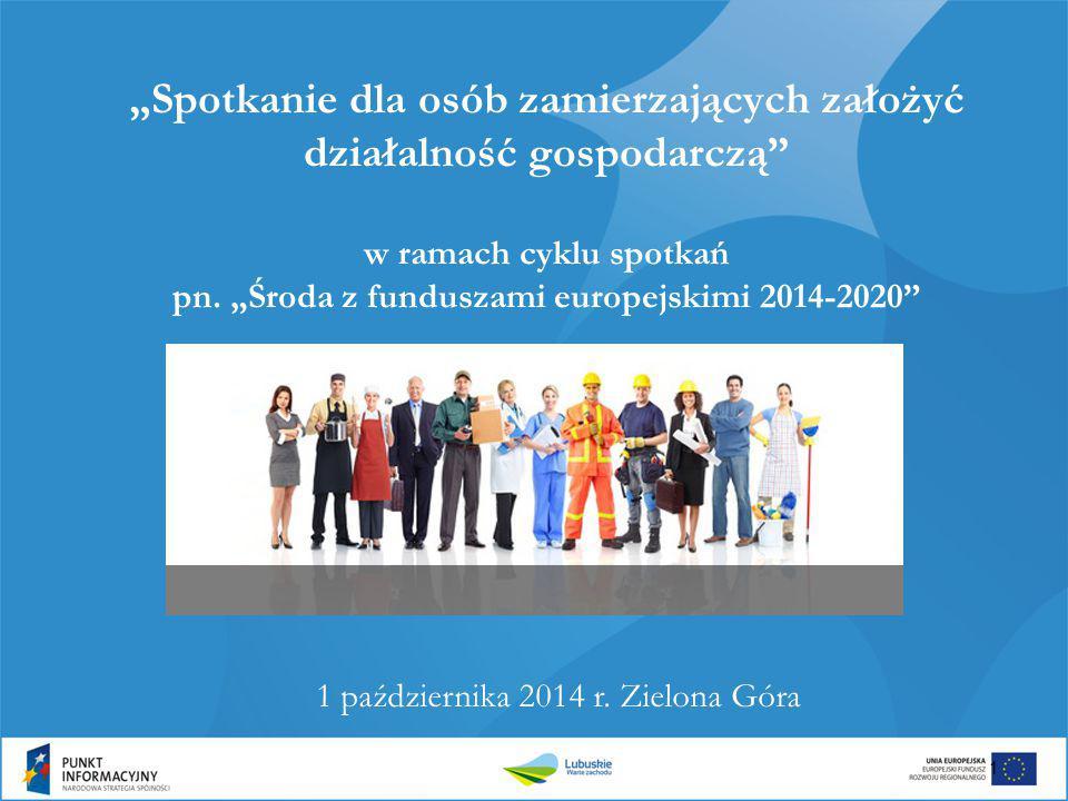 1 października 2014 r. Zielona Góra
