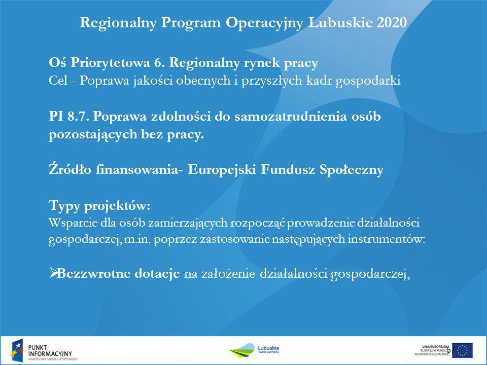 Regionalny Program Operacyjny Lubuskie 2020