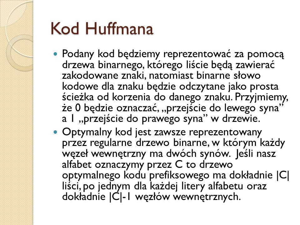 Kod Huffmana