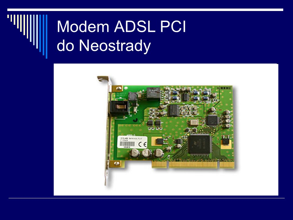 Modem ADSL PCI do Neostrady