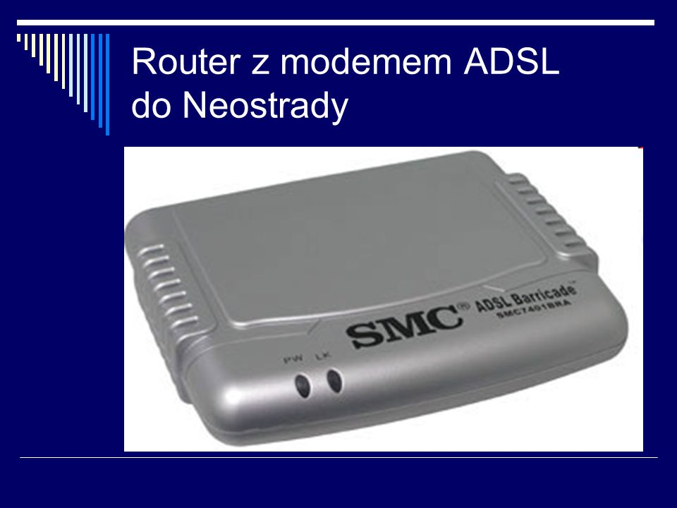 Router z modemem ADSL do Neostrady