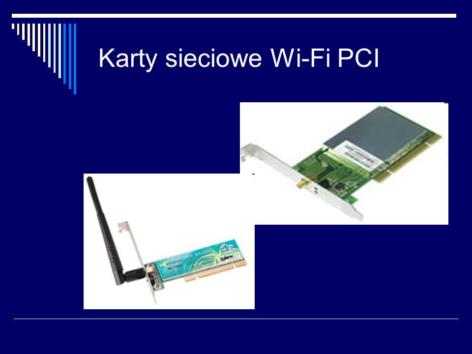 Karty sieciowe Wi-Fi PCI