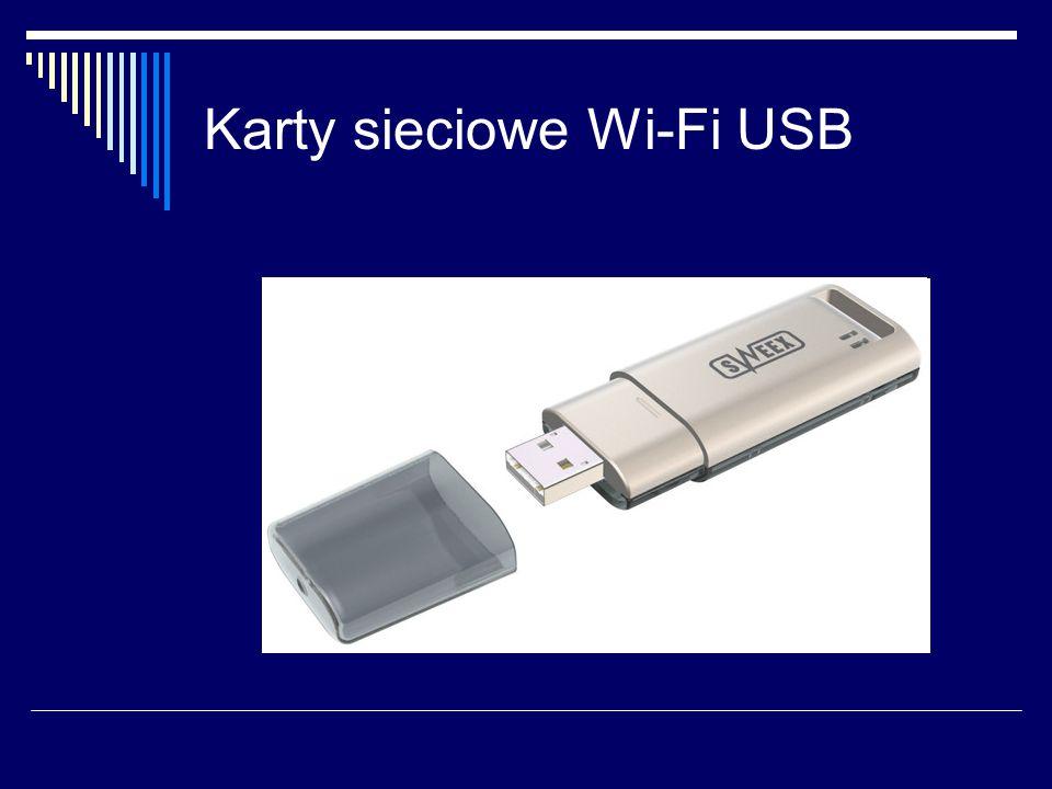 Karty sieciowe Wi-Fi USB