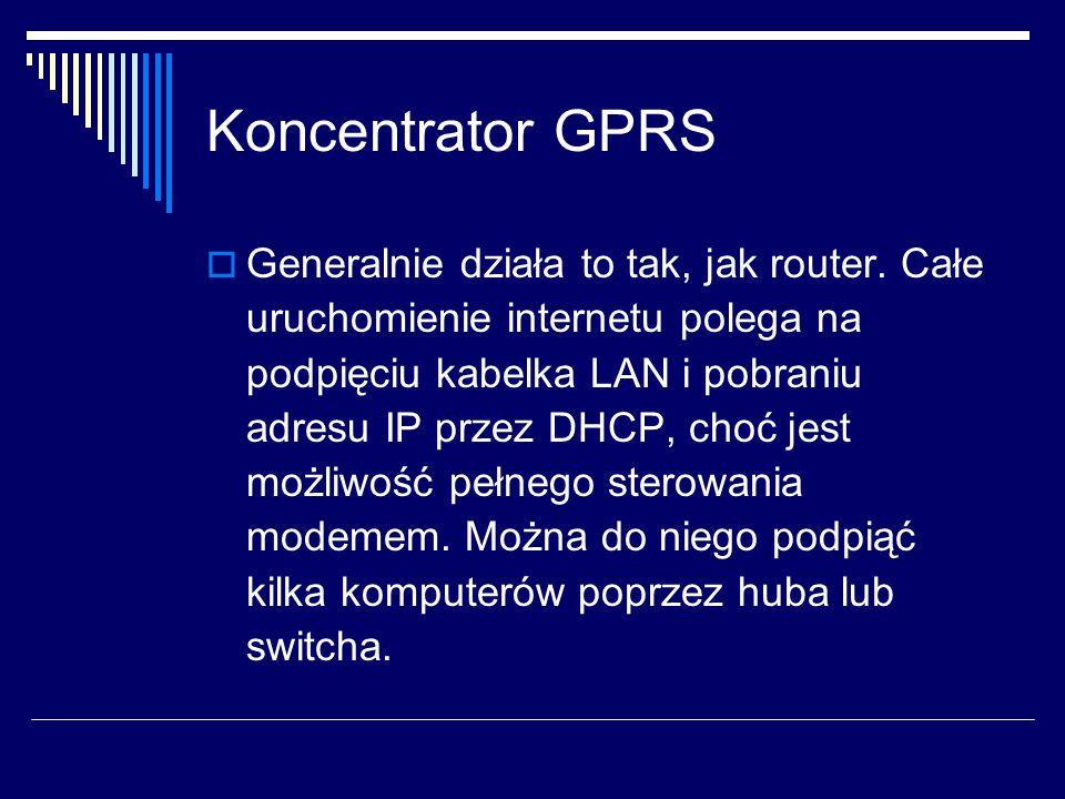 Koncentrator GPRS