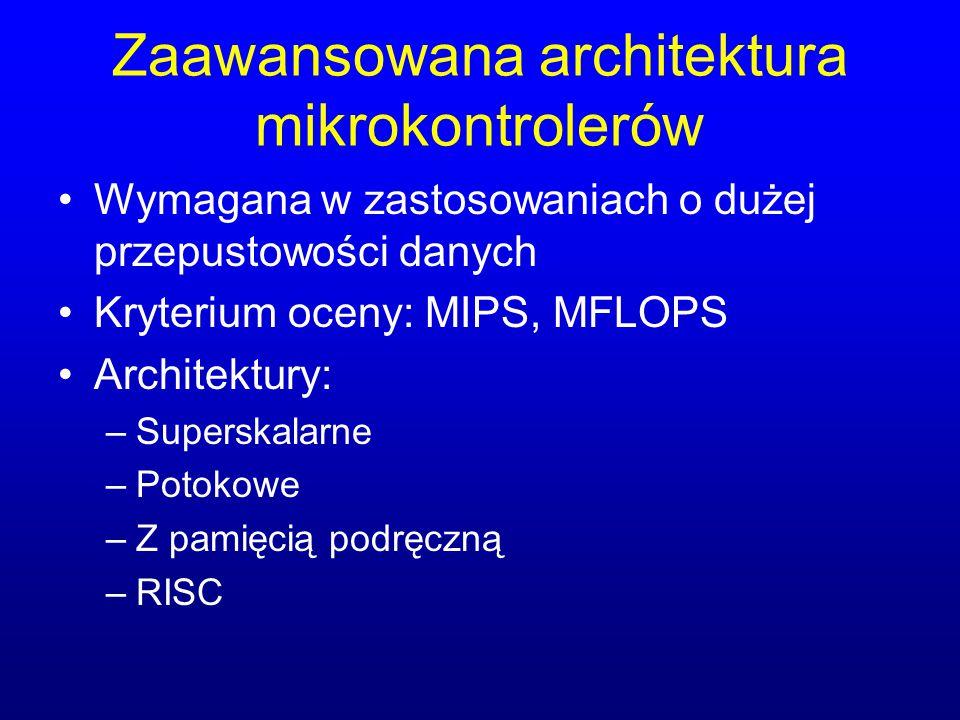 Zaawansowana architektura mikrokontrolerów