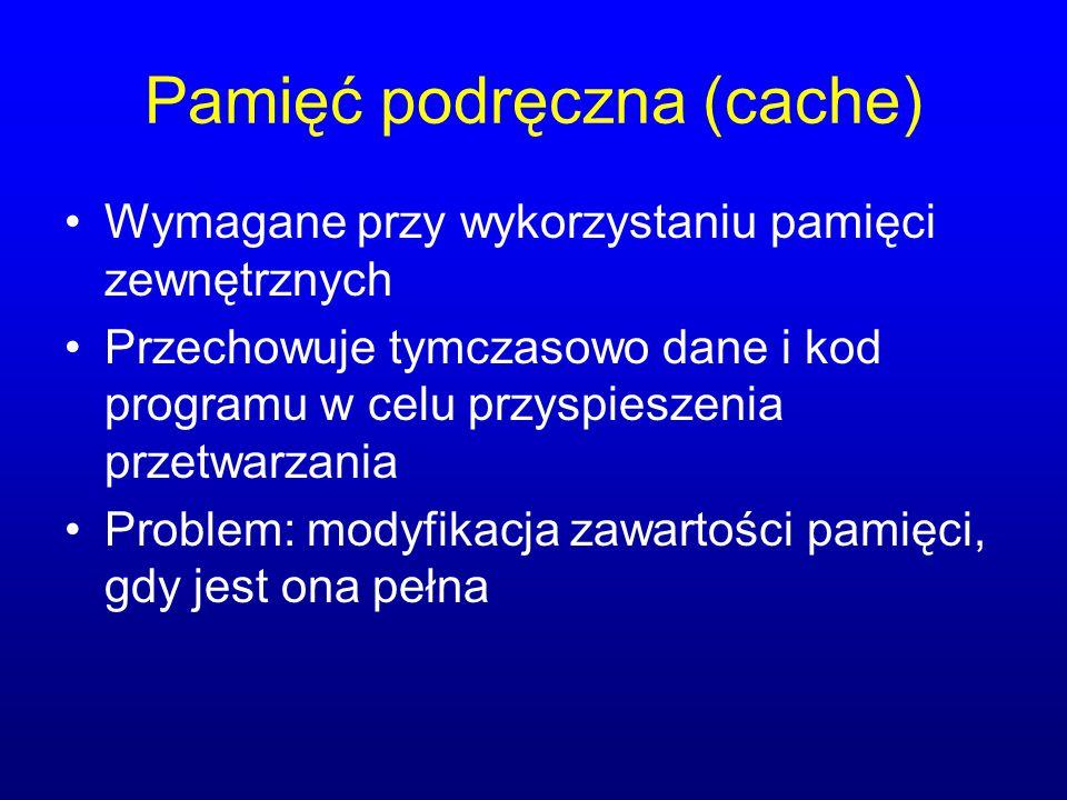 Pamięć podręczna (cache)