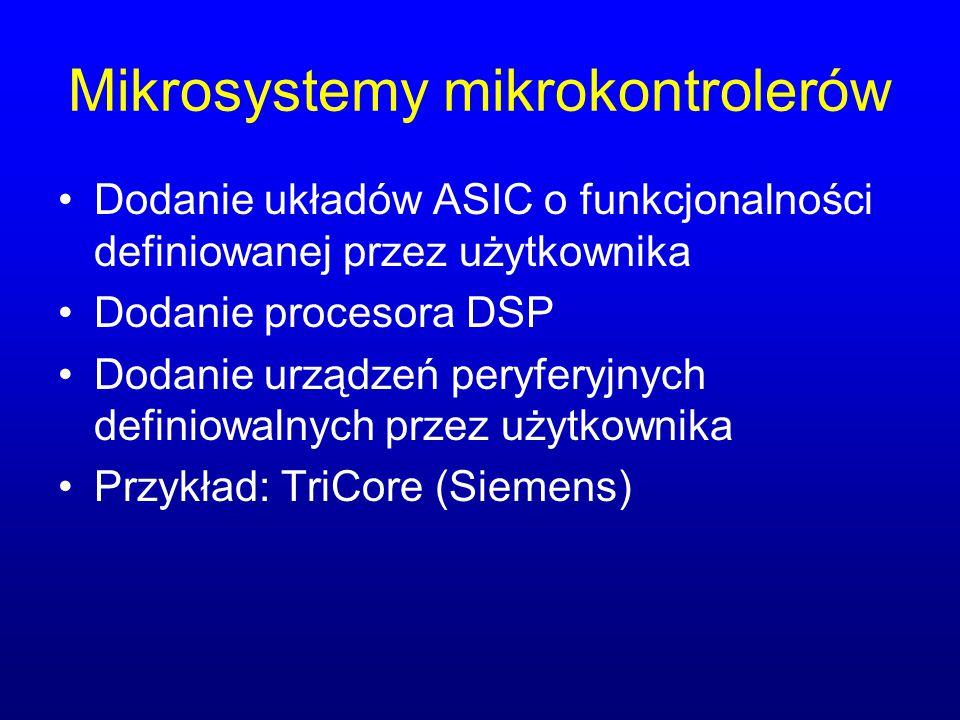 Mikrosystemy mikrokontrolerów
