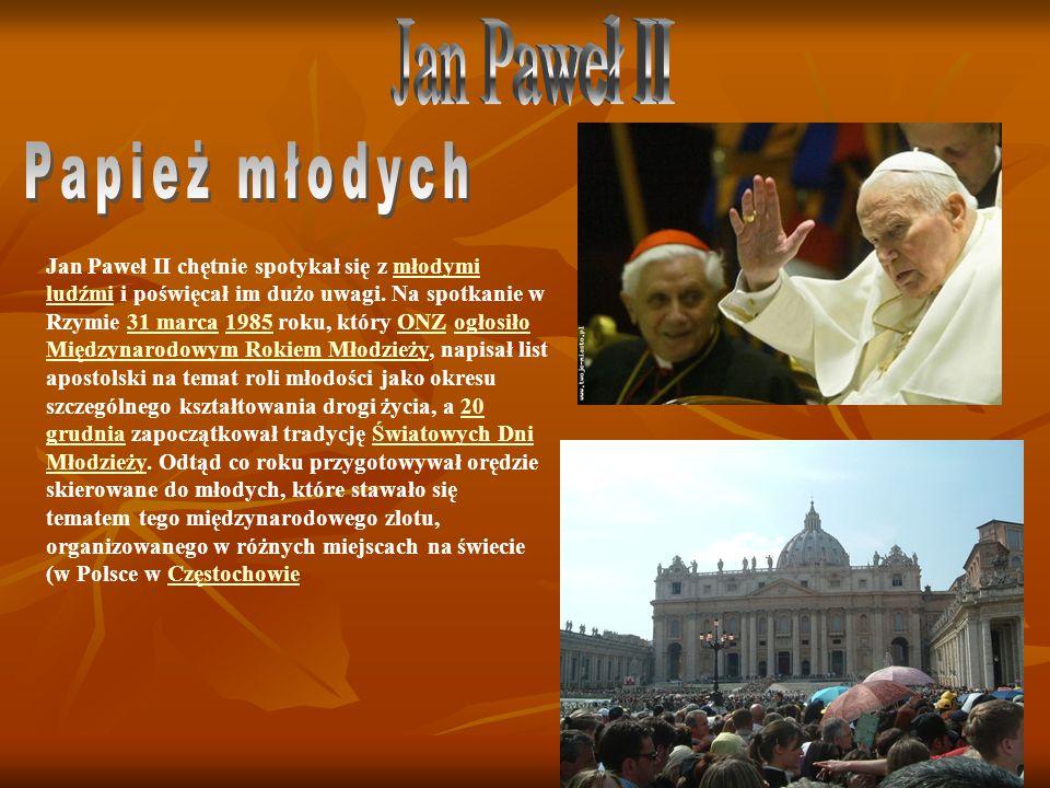 Jan Paweł II Papież młodych