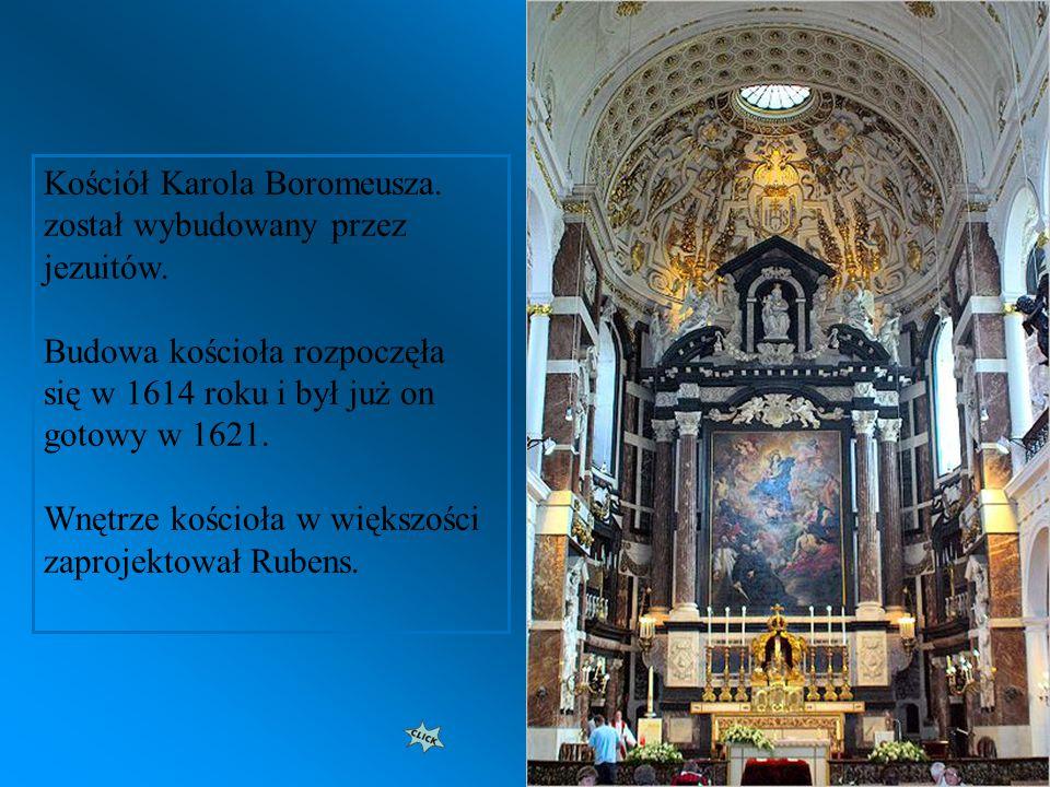 Kościół Karola Boromeusza. został wybudowany przez