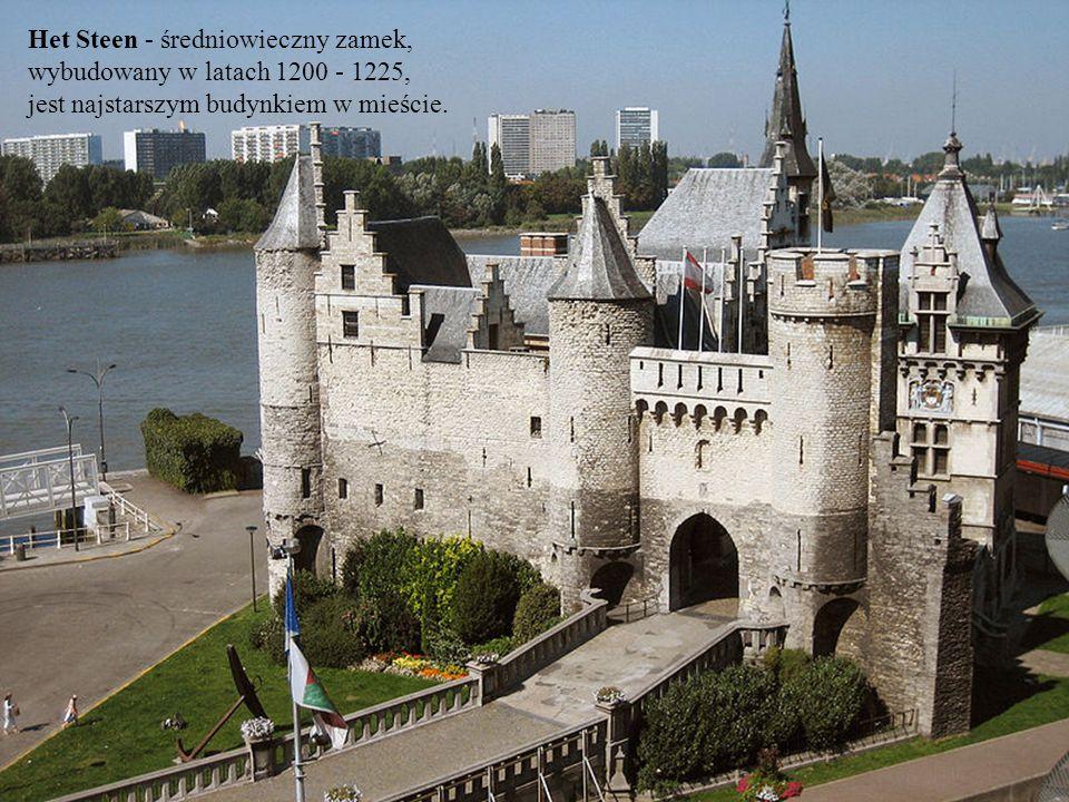 Het Steen - średniowieczny zamek, wybudowany w latach 1200 - 1225,