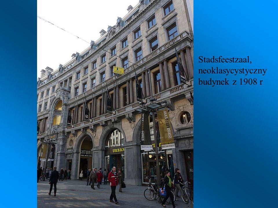 Stadsfeestzaal, neoklasycystyczny budynek z 1908 r