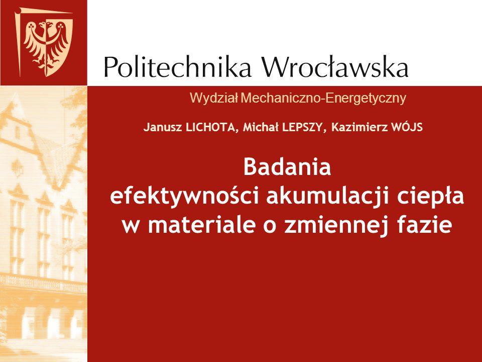 Janusz LICHOTA, Michał LEPSZY, Kazimierz WÓJS