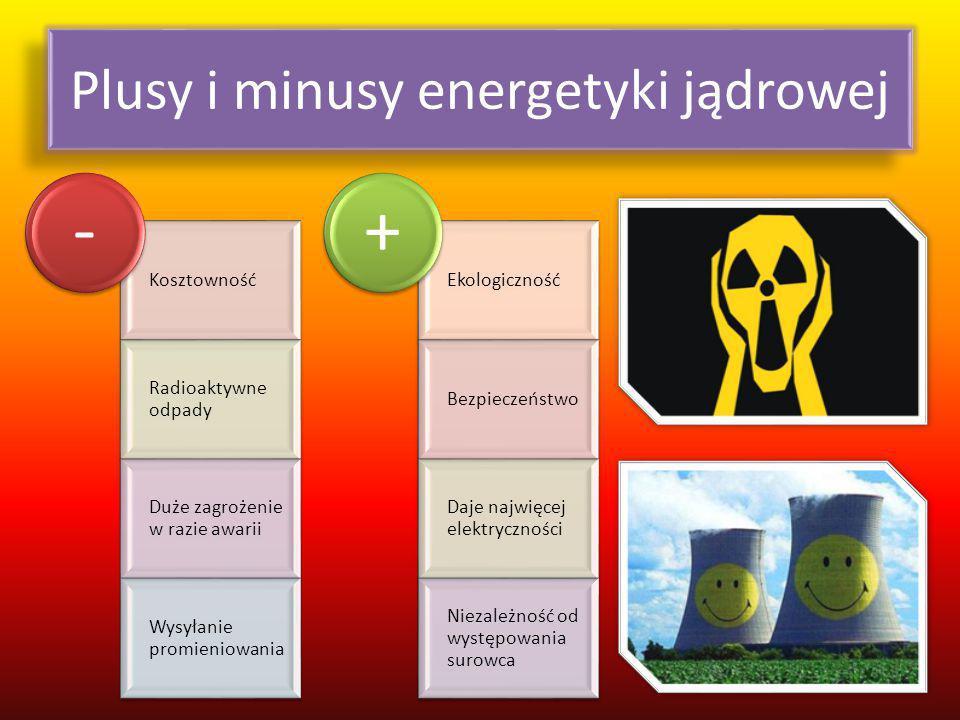 Plusy i minusy energetyki jądrowej