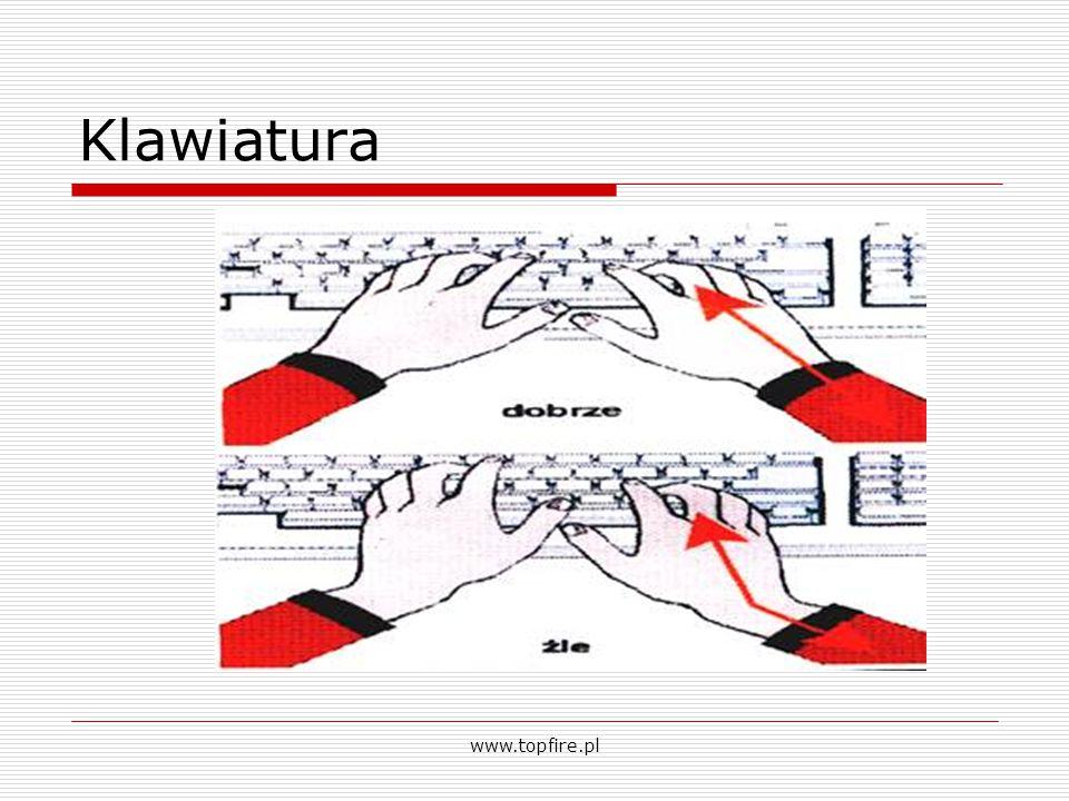 Klawiatura www.topfire.pl