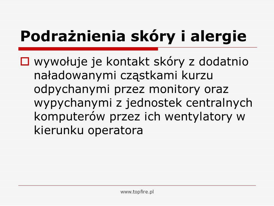 Podrażnienia skóry i alergie