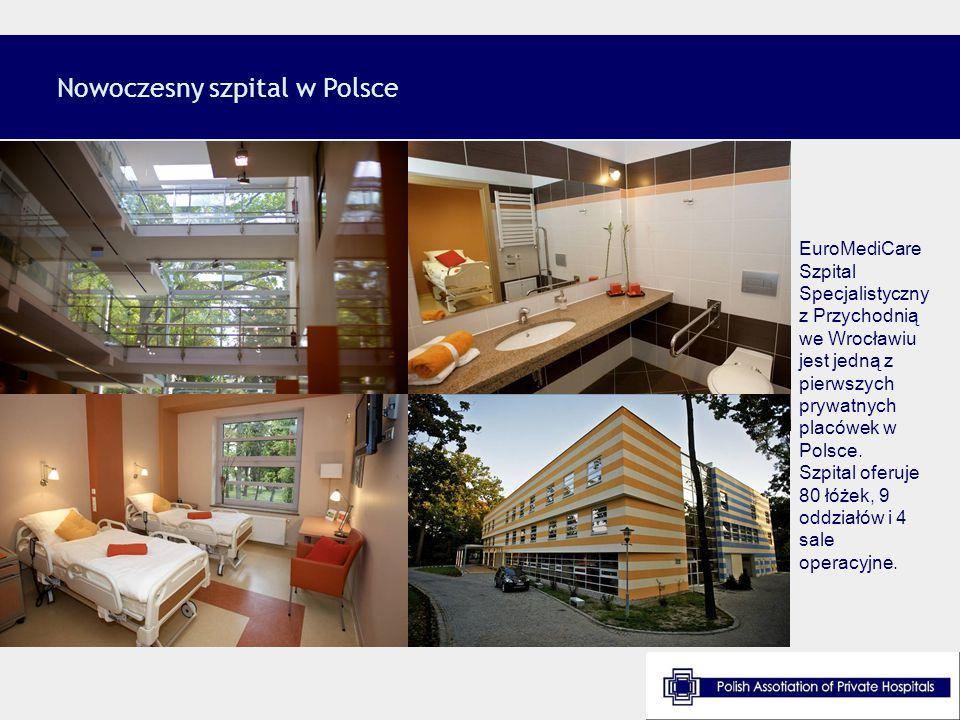 Nowoczesny szpital w Polsce