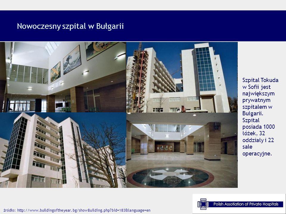 Nowoczesny szpital w Bułgarii