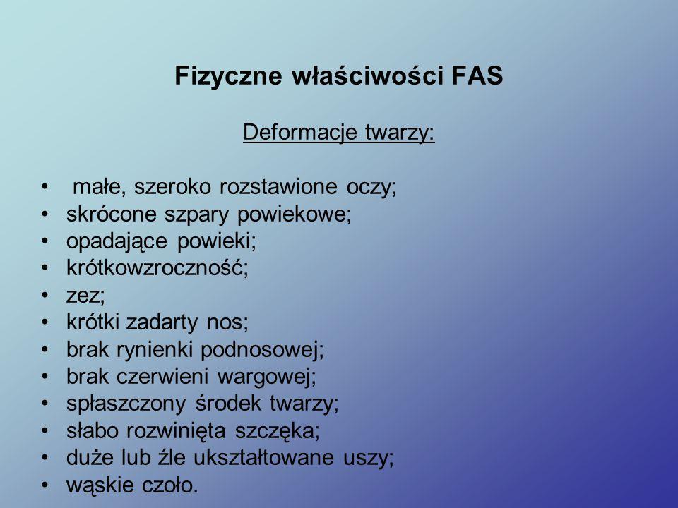 Fizyczne właściwości FAS