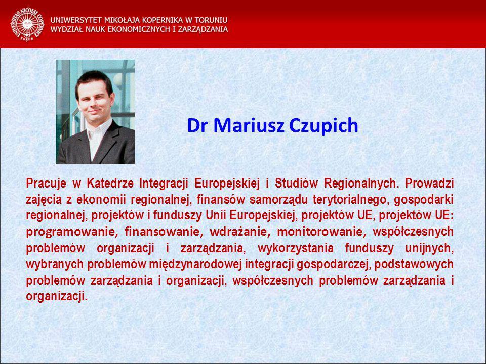 Dr Mariusz Czupich