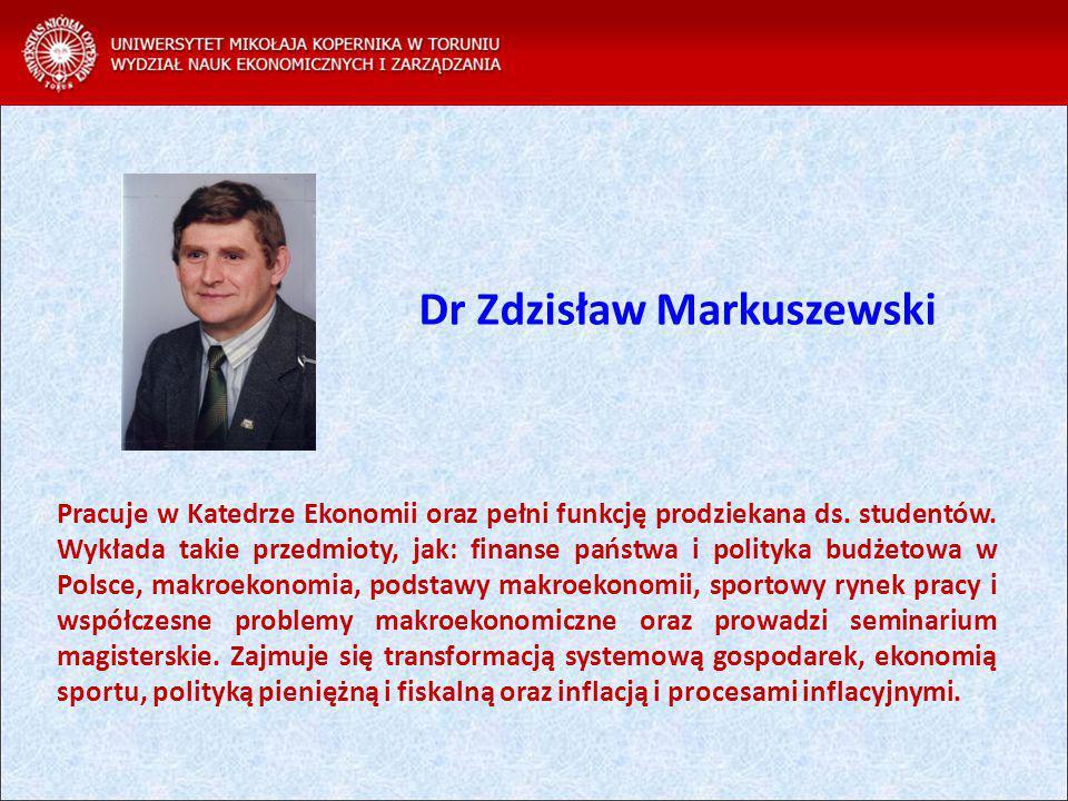 Dr Zdzisław Markuszewski