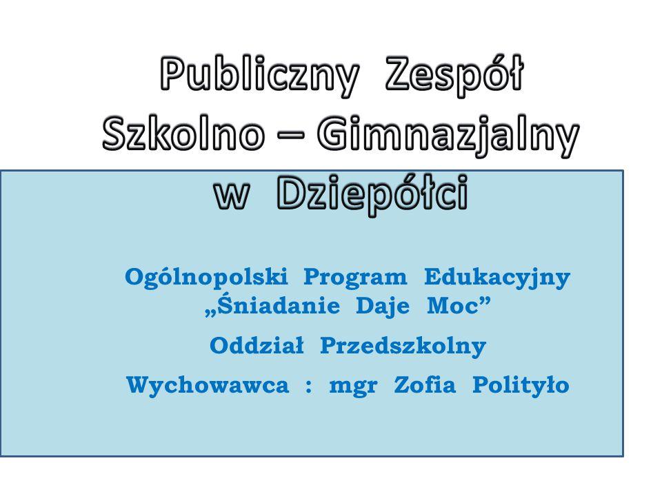 Publiczny Zespół Szkolno – Gimnazjalny w Dziepółci
