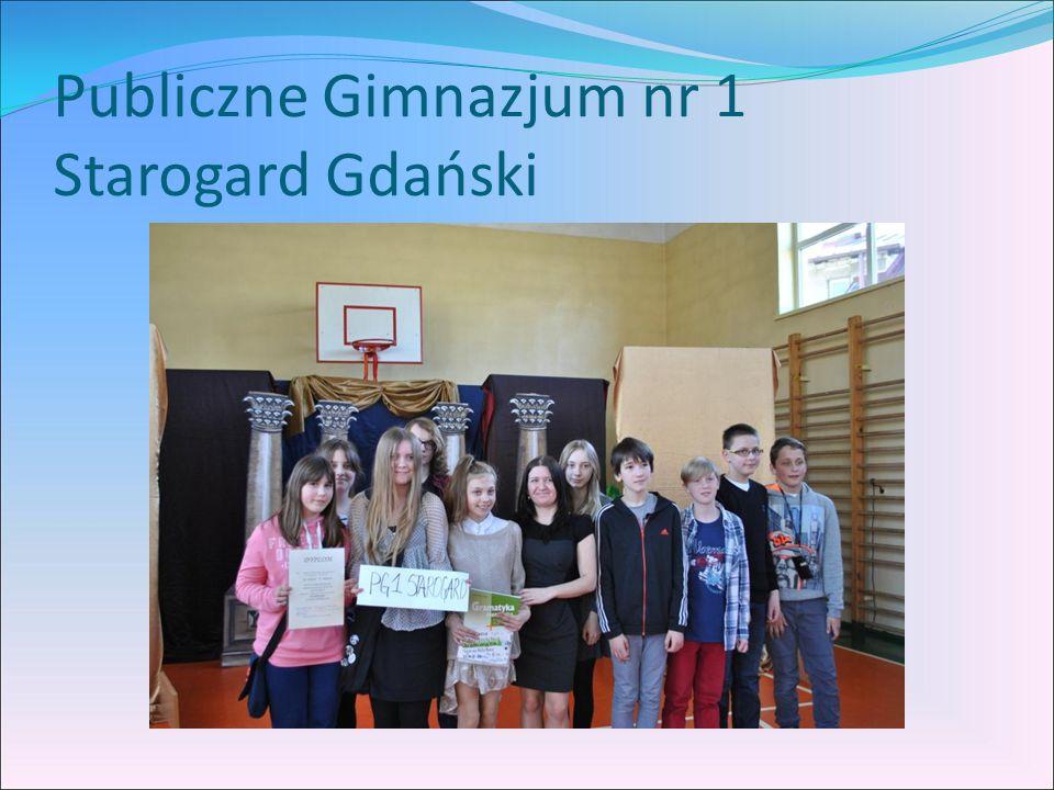 Publiczne Gimnazjum nr 1 Starogard Gdański