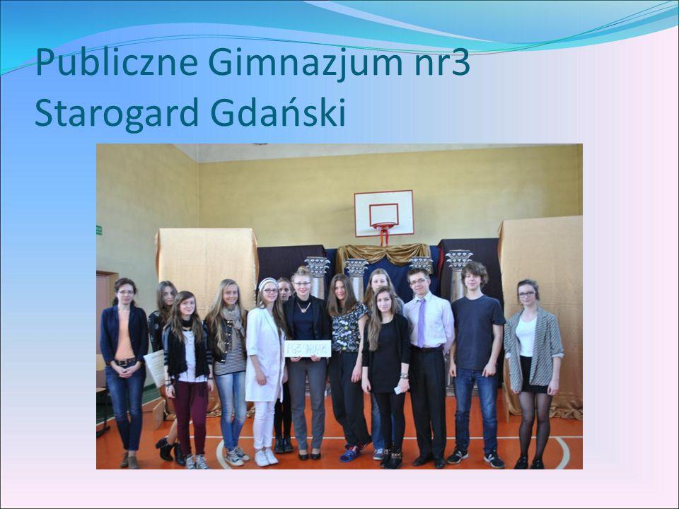 Publiczne Gimnazjum nr3 Starogard Gdański