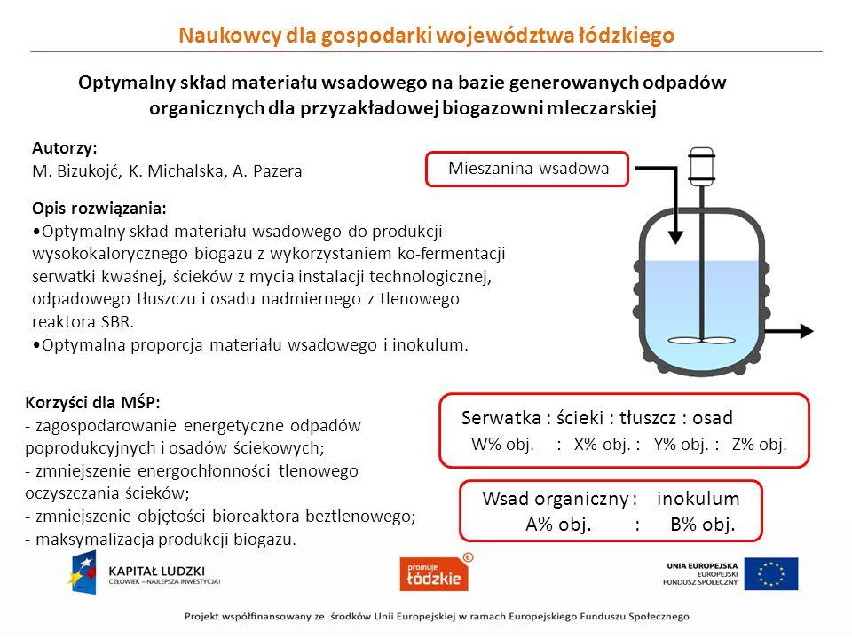 Naukowcy dla gospodarki województwa łódzkiego