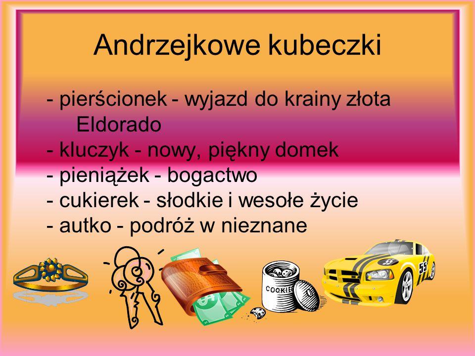 Andrzejkowe kubeczki