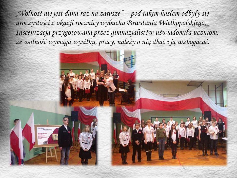 """""""Wolność nie jest dana raz na zawsze – pod takim hasłem odbyły się uroczystości z okazji rocznicy wybuchu Powstania Wielkopolskiego."""