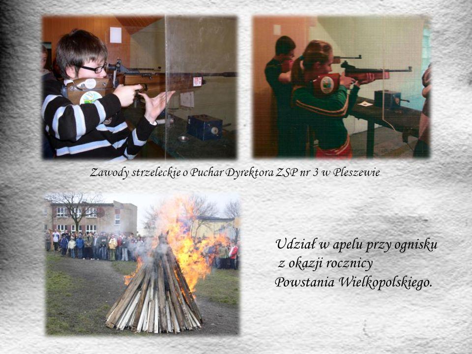 Zawody strzeleckie o Puchar Dyrektora ZSP nr 3 w Pleszewie