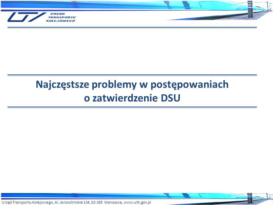 Najczęstsze problemy w postępowaniach o zatwierdzenie DSU