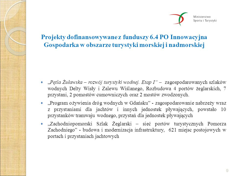 Projekty dofinansowywane z funduszy 6
