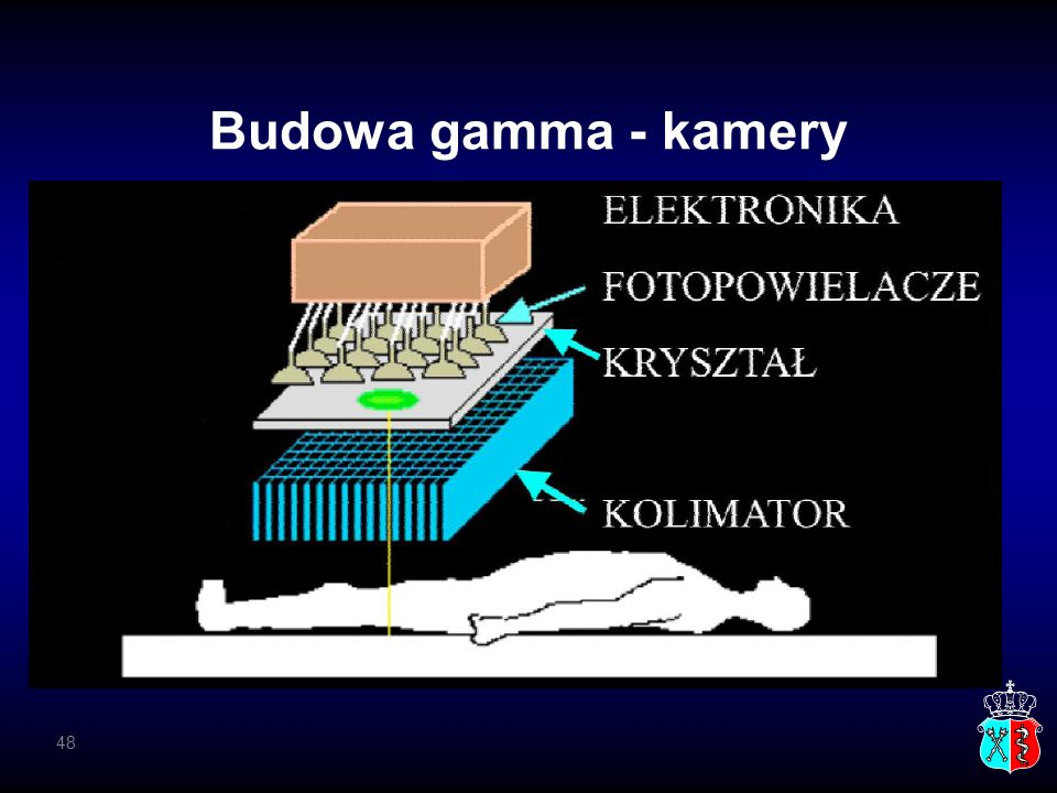 Budowa gamma - kamery