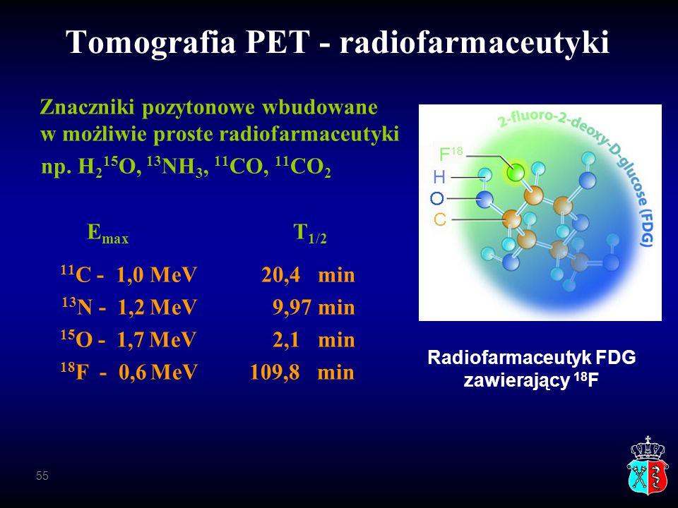 Tomografia PET - radiofarmaceutyki