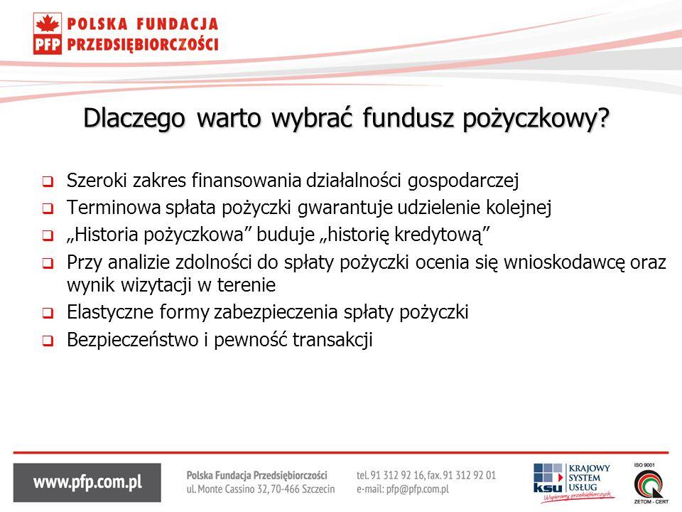 Dlaczego warto wybrać fundusz pożyczkowy