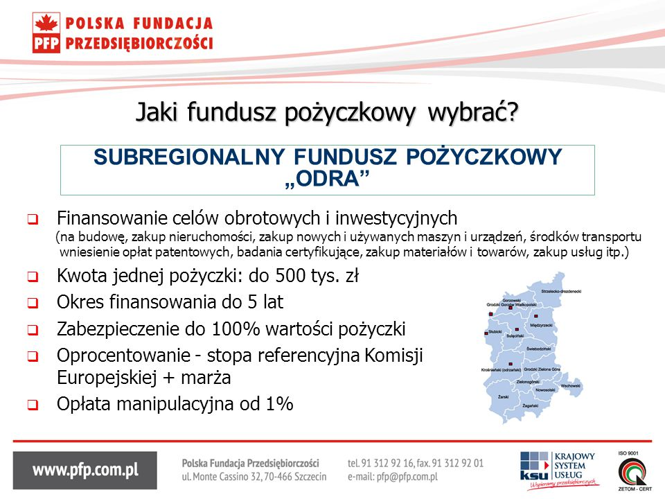 Jaki fundusz pożyczkowy wybrać