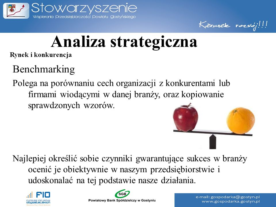 Analiza strategiczna Benchmarking