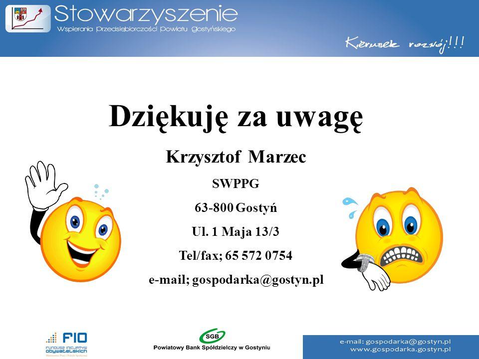 e-mail; gospodarka@gostyn.pl
