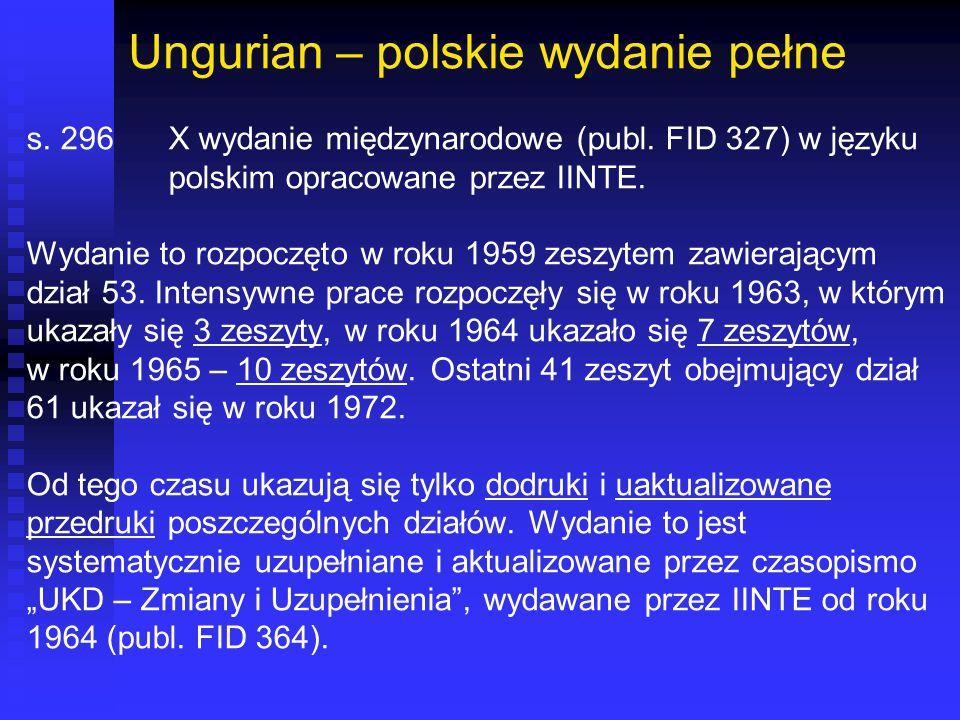 Ungurian – polskie wydanie pełne