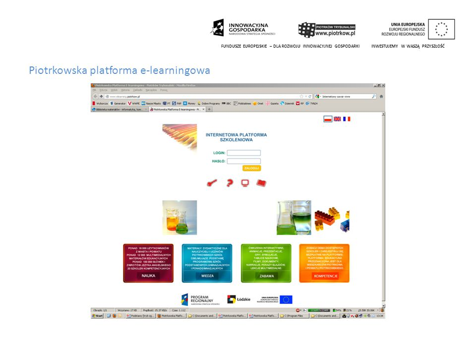 Piotrkowska platforma e-learningowa