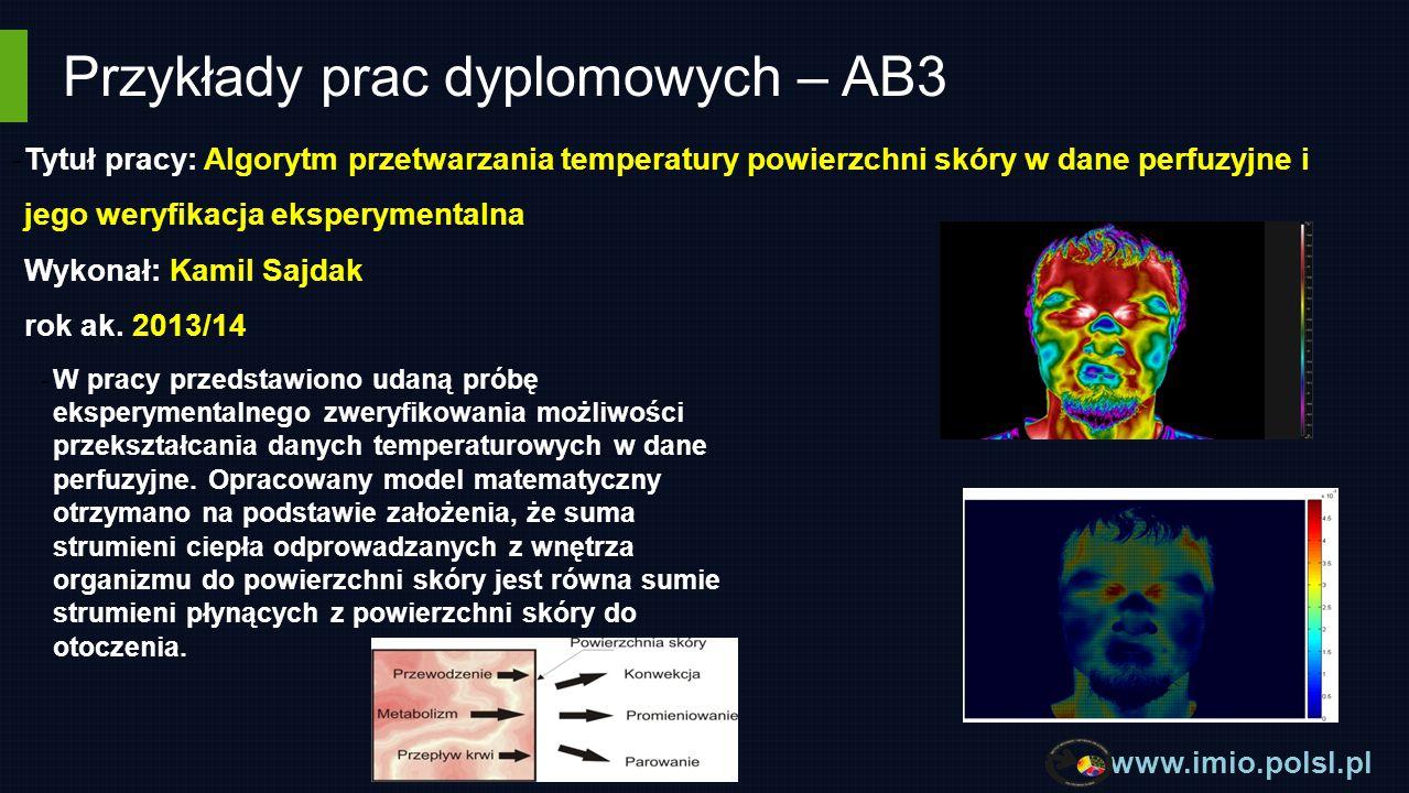 Przykłady prac dyplomowych – AB3