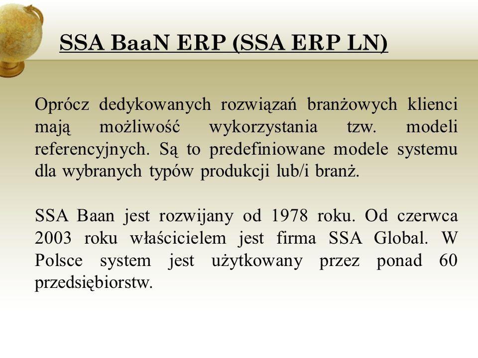 SSA BaaN ERP (SSA ERP LN)