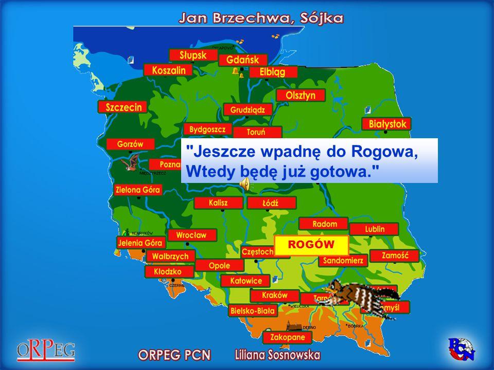Jeszcze wpadnę do Rogowa, Wtedy będę już gotowa.