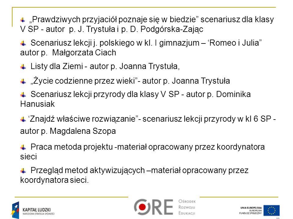 Listy dla Ziemi - autor p. Joanna Trystuła,