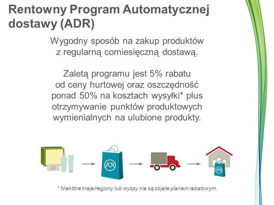 Rentowny Program Automatycznej dostawy (ADR)