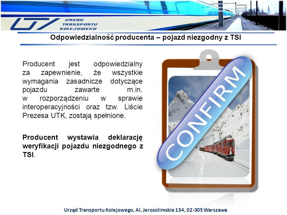 Odpowiedzialność producenta – pojazd niezgodny z TSI